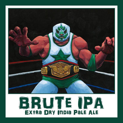 Three Heads Brute Extra Dry India Pale Ale