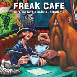 Three Heads Freak Cafe Imperial Brown Ale