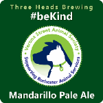 Three Heads #beKind Mandarillo Pale Ale