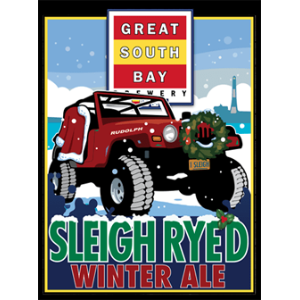 Great South Bay Brewery Sleigh Ryed Winter Ale