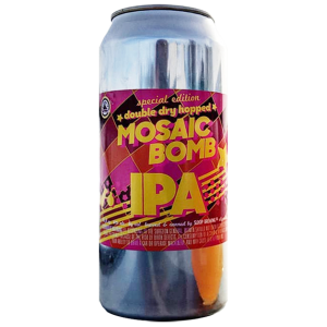 Sloop Brewing Co. Double Dry Hopped Mosaic Bomb