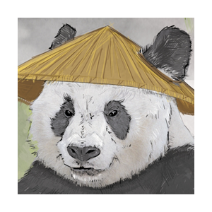Falling Down Zen Panda Green Tea IPA