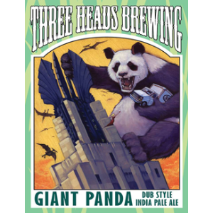 Three Heads Giant Panda Dub Style IPA