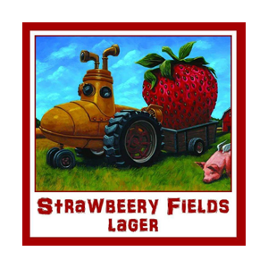 Three Heads Strawbeery Fields Lager