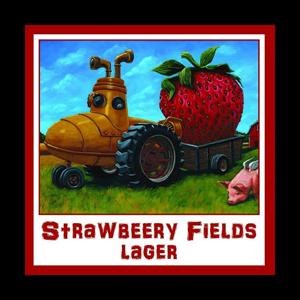 Three Heads Strawbeery Fields Lager