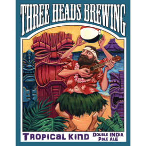 Three Heads Tropical Kind Double IPA