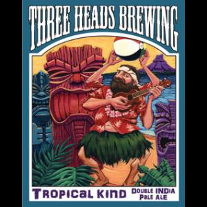 Three Heads Tropical Kind Double IPA